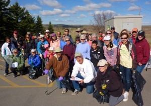 VOLUNTEERS PARK CLEAN-UP
